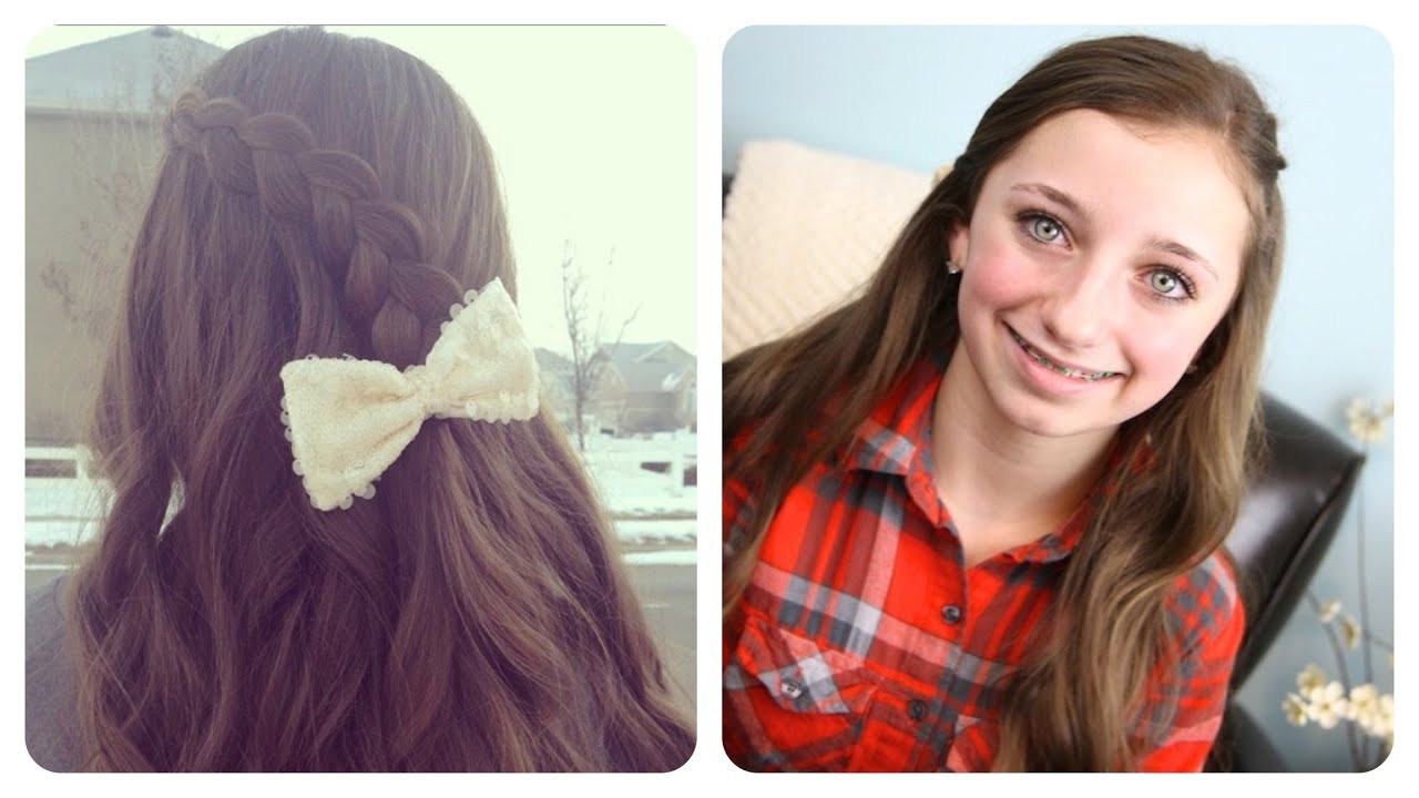 Best ideas about Cute Girl Hairstyles Youtube . Save or Pin Pancake Lace Braid by BrooklynAndBailey Now.