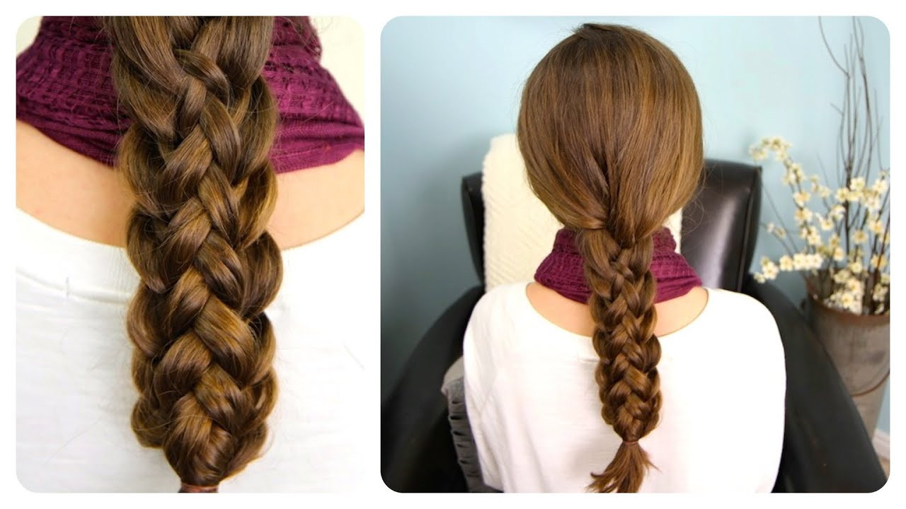 Best ideas about Cute Girl Hairstyles Youtube . Save or Pin Stacked Braids Now.