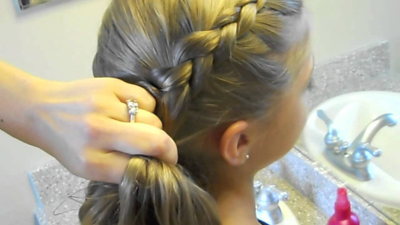 Best ideas about Cute Girl Hairstyles Youtube . Save or Pin Same Side Dutch Braid Medium Hairstyles Now.