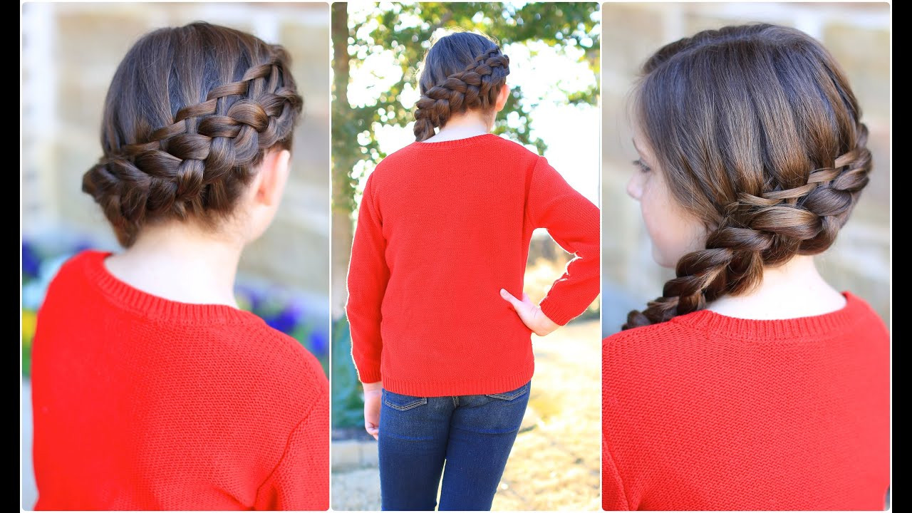 Best ideas about Cute Girl Hairstyles Youtube . Save or Pin Waterfall Twist bo Now.