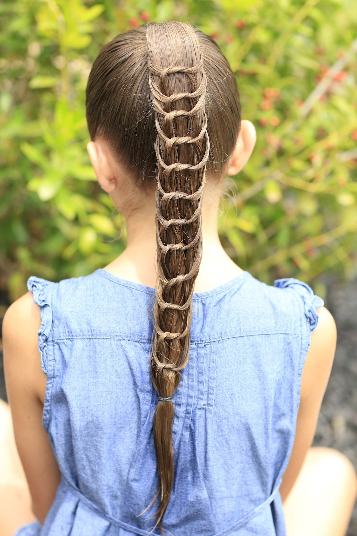Best ideas about Cute Girls Haircuts . Save or Pin The Knotted Ponytail Hairstyles for Girls Now.