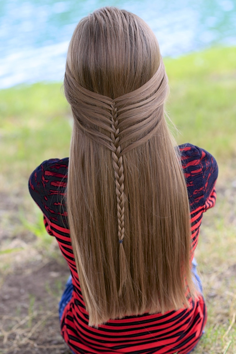 Best ideas about Cute Girls Haircuts . Save or Pin Mermaid Half Braid Hairstyles for Long Hair Now.