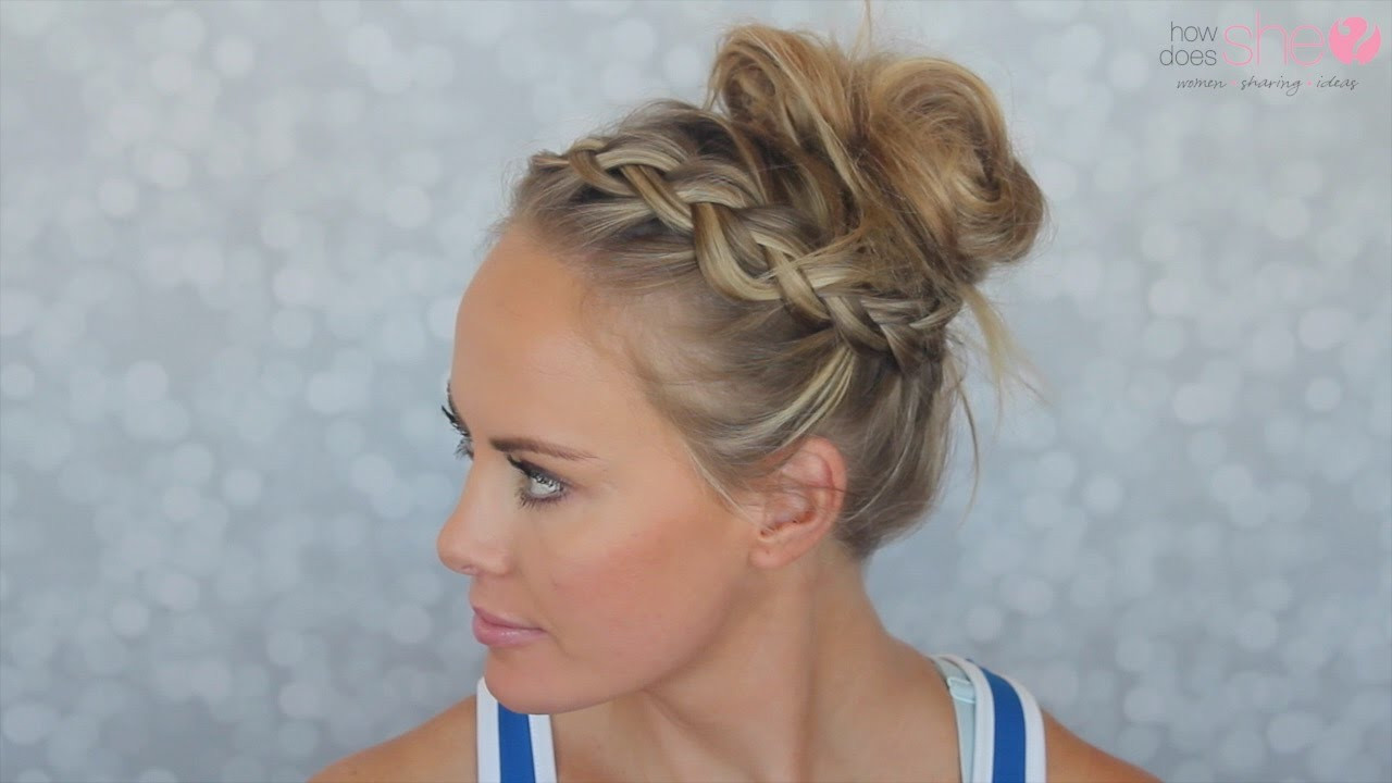 Best ideas about Cute Gym Hairstyles . Save or Pin Simple and Cute Gym Hairstyle See how easy it is Now.