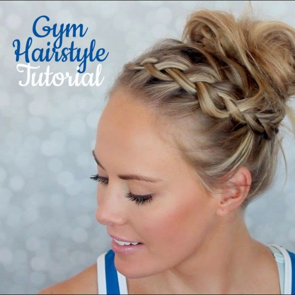 Best ideas about Cute Gym Hairstyles . Save or Pin 1000 images about CUTE GYM HAIRSTYLES on Pinterest Now.