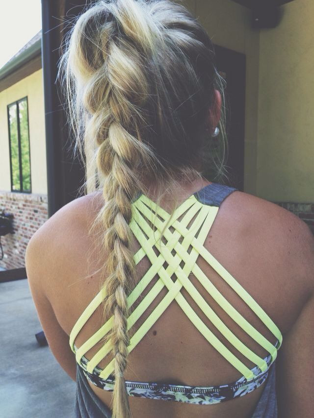 Best ideas about Cute Gym Hairstyles . Save or Pin 25 best ideas about Gym Hairstyles on Pinterest Now.