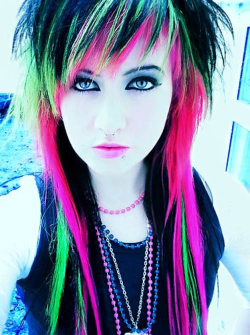 Best ideas about Cute Haircuts And Colors . Save or Pin All About Fashion Collection Colored Hairstyles Now.