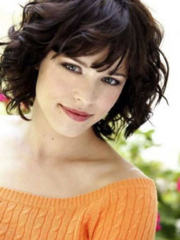 Best ideas about Cute Haircuts For Wavy Hair . Save or Pin 1000 ideas about Medium Length Curly Hairstyles on Now.