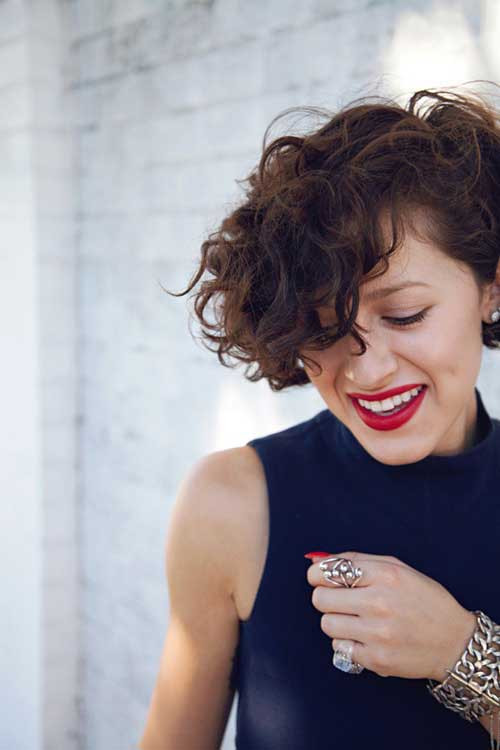 Best ideas about Cute Haircuts For Wavy Hair . Save or Pin Hairstyles for Short Curly Hair Now.