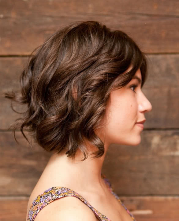 Best ideas about Cute Haircuts For Wavy Hair . Save or Pin 15 Great Short Curly Hairstyles YouQueen Now.