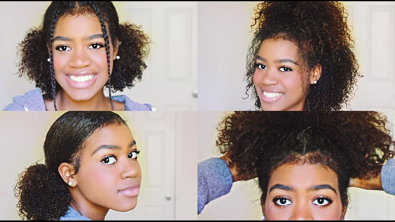 Best ideas about Cute Haircuts For Wavy Hair . Save or Pin 4 EASY and CUTE Hairstyles for Medium Length Curly Hair Now.