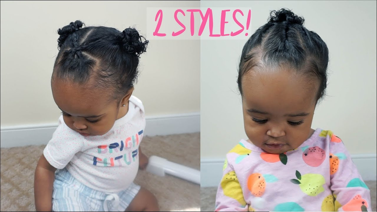 Best ideas about Cute Hairstyles For Babies . Save or Pin 2 Cute and Easy Hairstyles for Baby Girls Now.