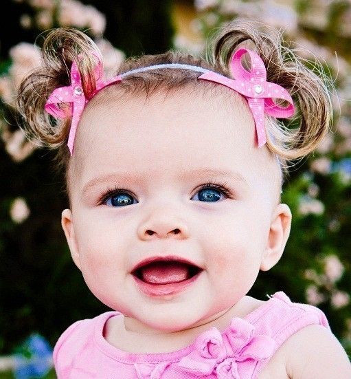 Best ideas about Cute Hairstyles For Babies . Save or Pin The ORIGINAL Baby Ponytails Faux Pigtail Headband Bebe Now.