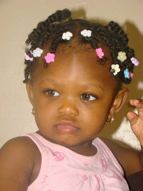 Best ideas about Cute Hairstyles For Babies . Save or Pin Black hairstyles for girls Now.