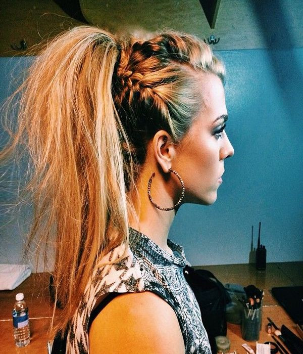 Best ideas about Cute Hairstyles For Concerts . Save or Pin Easy to rock Festival Hairstyles Now.