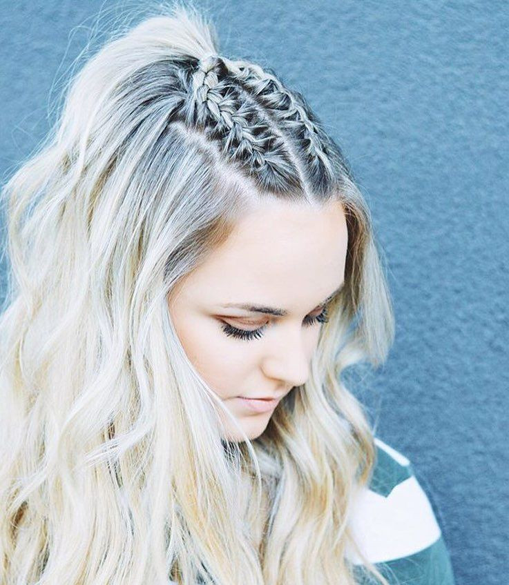 """Best ideas about Cute Hairstyles For Concerts . Save or Pin """"Mi piace"""" 345 menti 6 Miaa∞ thehairlair su Now."""