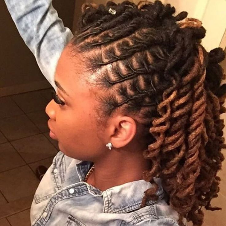 Best ideas about Cute Hairstyles For Dreads . Save or Pin Best 25 Locs ideas on Pinterest Now.