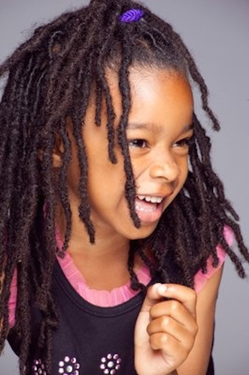 Best ideas about Cute Hairstyles For Dreads . Save or Pin Hairstyles For Kids With Locs Now.