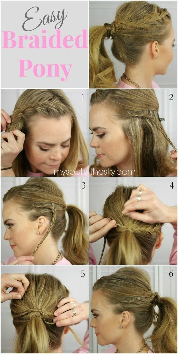 Best ideas about Cute Hairstyles For High School . Save or Pin 15 Cute and Easy Ponytail Hairstyles Tutorials Now.