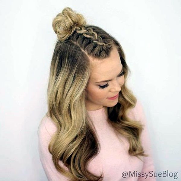 Best ideas about Cute Hairstyles For High School . Save or Pin 17 best ideas about Easy Hairstyles For School on Now.