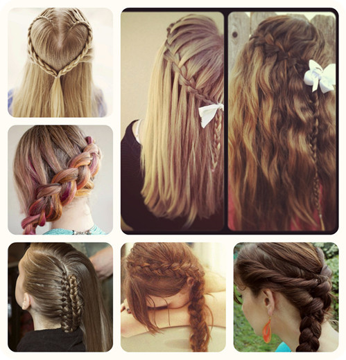 Best ideas about Cute Hairstyles For High School . Save or Pin 3 Easy Ways Back to School Hairstyles Vpfashion Now.