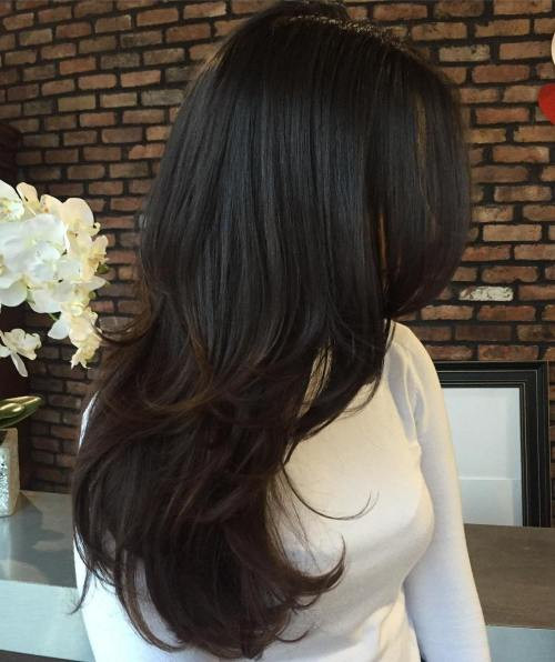 Best ideas about Cute Hairstyles For Layered Hair . Save or Pin 80 Cute Layered Hairstyles and Cuts for Long Hair in 2016 Now.