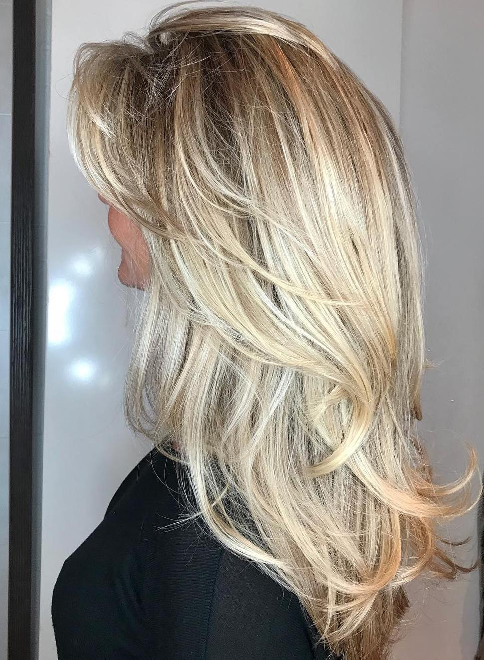 Best ideas about Cute Hairstyles For Layered Hair . Save or Pin 50 Cute Long Layered Haircuts with Bangs 2019 Now.