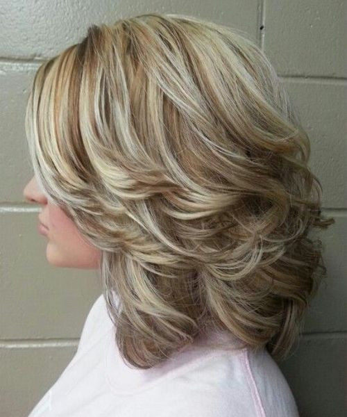 Best ideas about Cute Hairstyles For Layered Hair . Save or Pin 50 Cute Easy Hairstyles for Medium Length Hair Now.