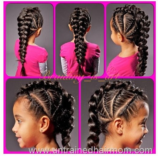 Best ideas about Cute Hairstyles For Mixed Girls . Save or Pin Best 25 Big cornrows ideas on Pinterest Now.