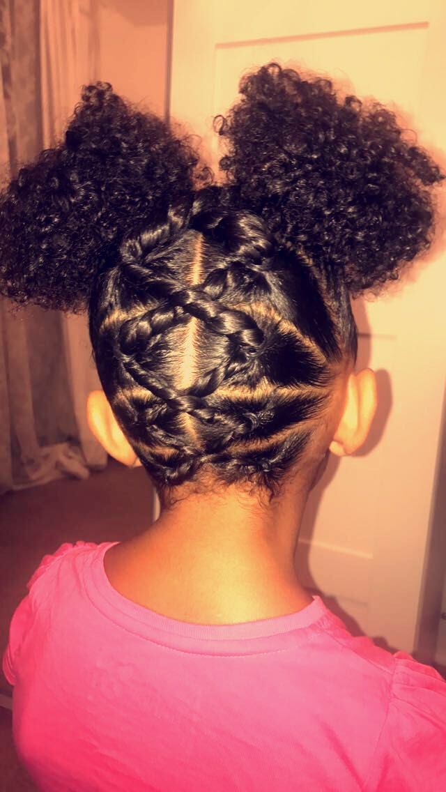 Best ideas about Cute Hairstyles For Mixed Girls . Save or Pin Little girls hair Mixed girls hair School hair for girls Now.