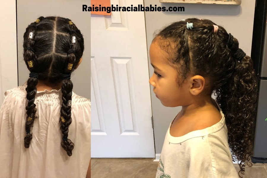 Best ideas about Cute Hairstyles For Mixed Hair . Save or Pin Mixed Girl Hairstyles A Cute Easy Style For Biracial Now.