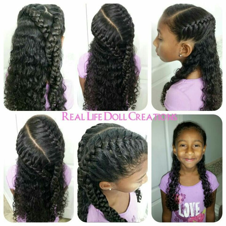 Best ideas about Cute Hairstyles For Mixed Hair . Save or Pin Real life doll creations hair for little girls little Now.