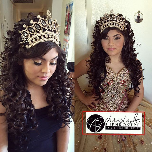 Best ideas about Cute Hairstyles For Quinceaneras . Save or Pin Dont even have a caption Im honestly so speechless Now.