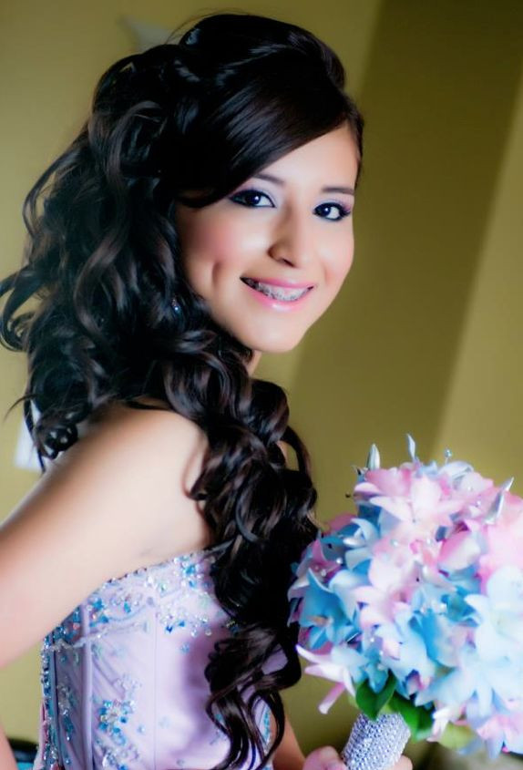 Best ideas about Cute Hairstyles For Quinceaneras . Save or Pin Quinceanera Hairstyle she is soo pretty Now.