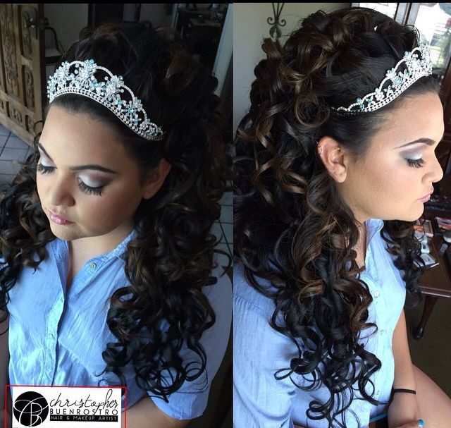 Best ideas about Cute Hairstyles For Quinceaneras . Save or Pin christopherbuenrostro buenrostrochristopher Now.