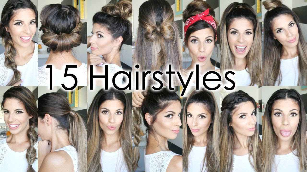 Best ideas about Cute Hairstyles For The First Day Of School . Save or Pin 15 Back To School Heatless Hairstyles Now.