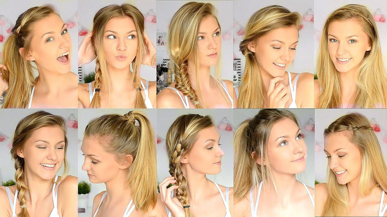 Best ideas about Cute Hairstyles For The First Day Of School . Save or Pin 10 Easy Back To School Hairstyles Now.