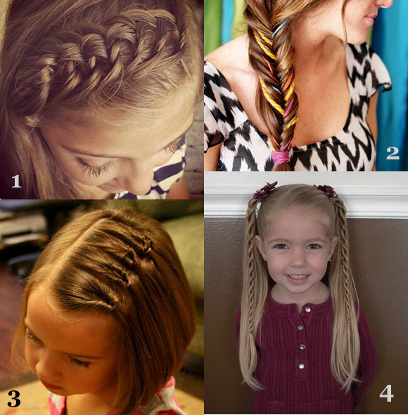 Best ideas about Cute Hairstyles For The First Day Of School . Save or Pin Girls Hairstyles For Back To School Now.