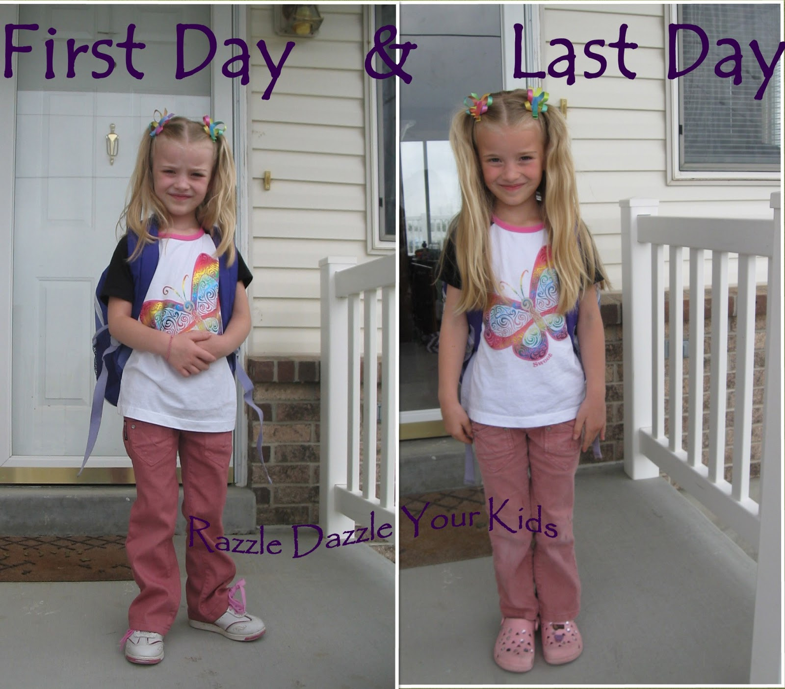 Best ideas about Cute Hairstyles For The First Day Of School . Save or Pin Razzle Dazzle Your Kids Now.