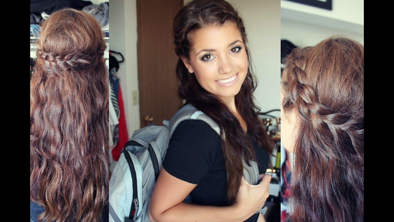 Best ideas about Cute Hairstyles For The First Day Of School . Save or Pin First Day of School Hair Tutorial ♡ Now.