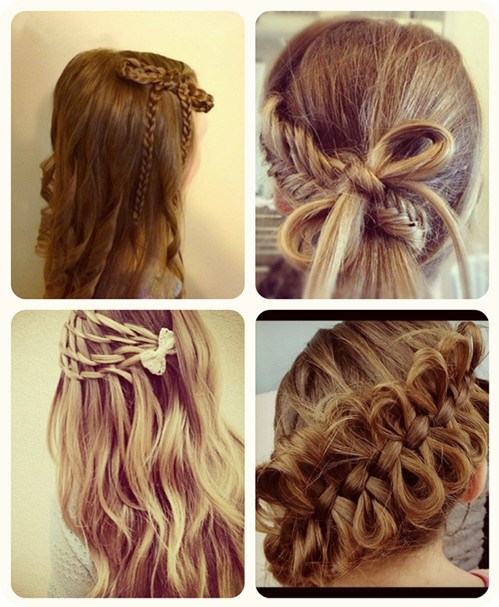Best ideas about Cute Hairstyles With Bows . Save or Pin Braided Bow Hairstyles Archives Vpfashion Vpfashion Now.