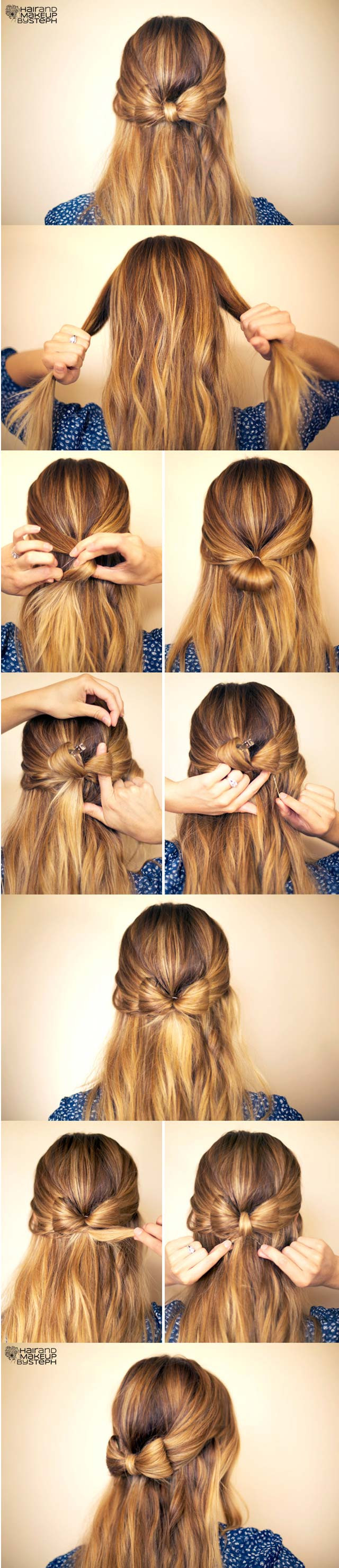 Best ideas about Cute Hairstyles With Bows . Save or Pin DIY Your Step by Step for the Best Cute Hairstyles Now.