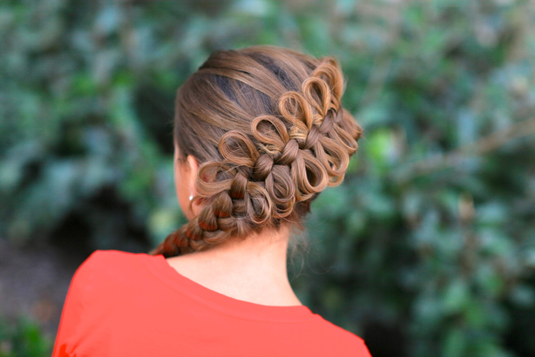 Best ideas about Cute Hairstyles With Bows . Save or Pin Diagonal Bow Braid Popular Hairstyles Now.