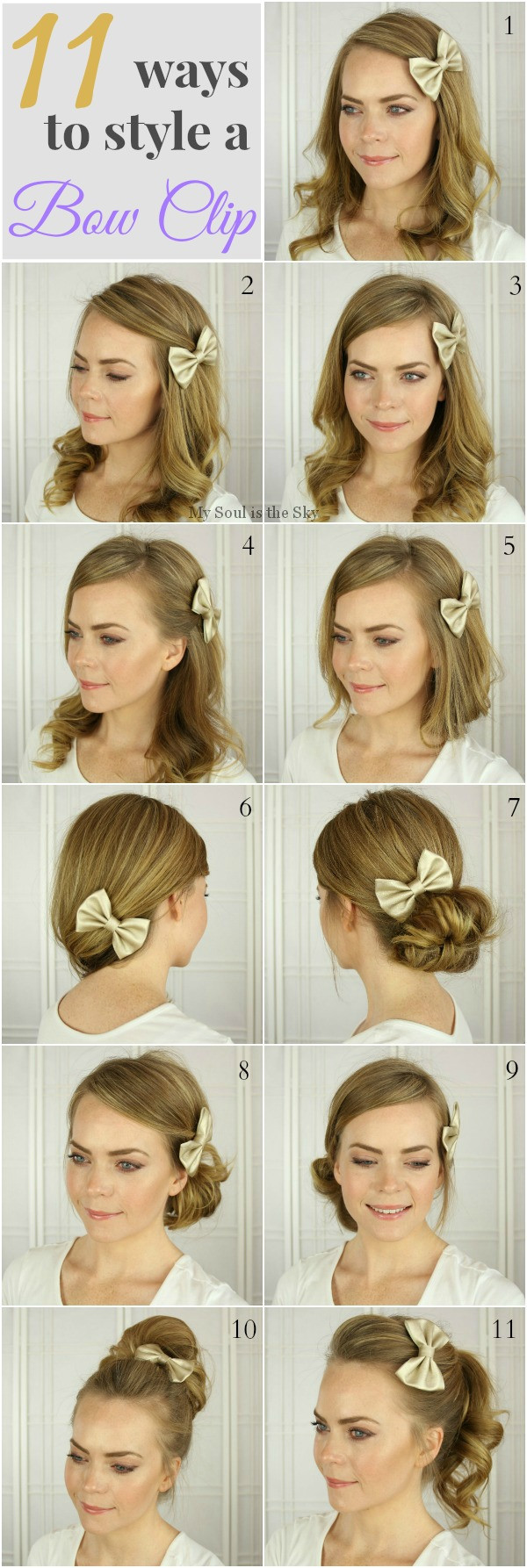 Best ideas about Cute Hairstyles With Bows . Save or Pin hairstyles with a bow Now.