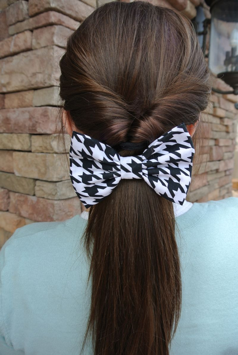 Best ideas about Cute Hairstyles With Bows . Save or Pin ONE BOW 4 WAYS CUTE IDEAS FOR WEARING A HAIR BOW Now.