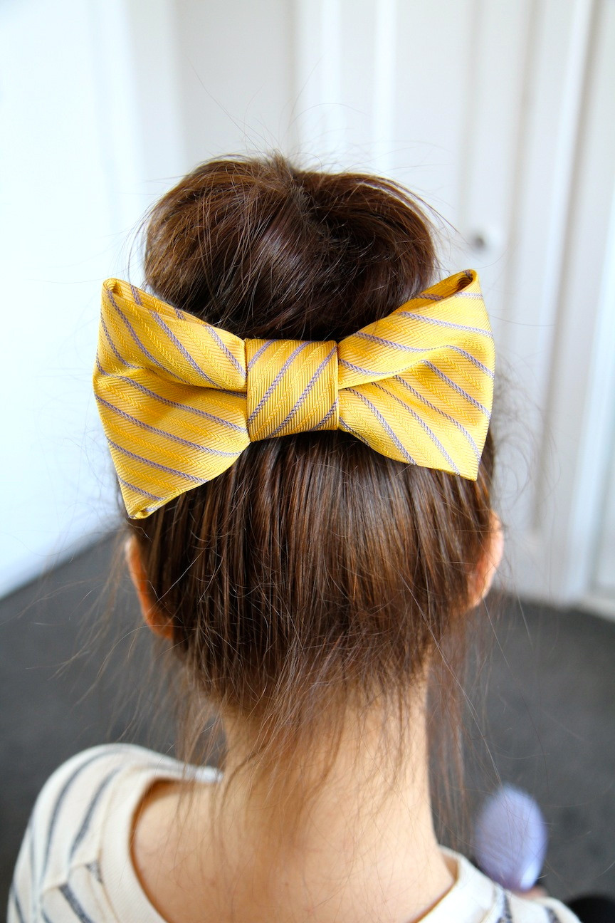 Best ideas about Cute Hairstyles With Bows . Save or Pin Teased High Bun Cute Updo Hairstyles Now.