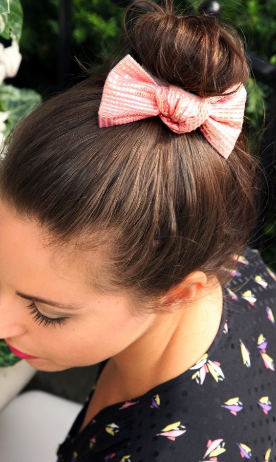 Best ideas about Cute Hairstyles With Bows . Save or Pin 32 Adorable Hairstyles with Bows Style Motivation Now.
