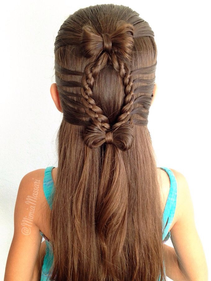 Best ideas about Cute Hairstyles With Bows . Save or Pin Best 20 Bow braid ideas on Pinterest—no signup required Now.