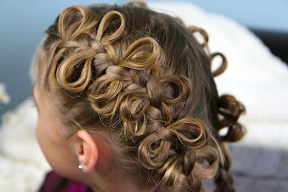 Best ideas about Cute Hairstyles With Bows . Save or Pin The Bow Braid Cute Braided Hairstyles Now.