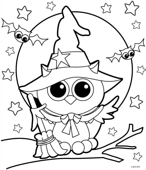 Best ideas about Cute Halloween Coloring Sheets For Kids . Save or Pin 200 Free Halloween Coloring Pages For Kids The Suburban Mom Now.