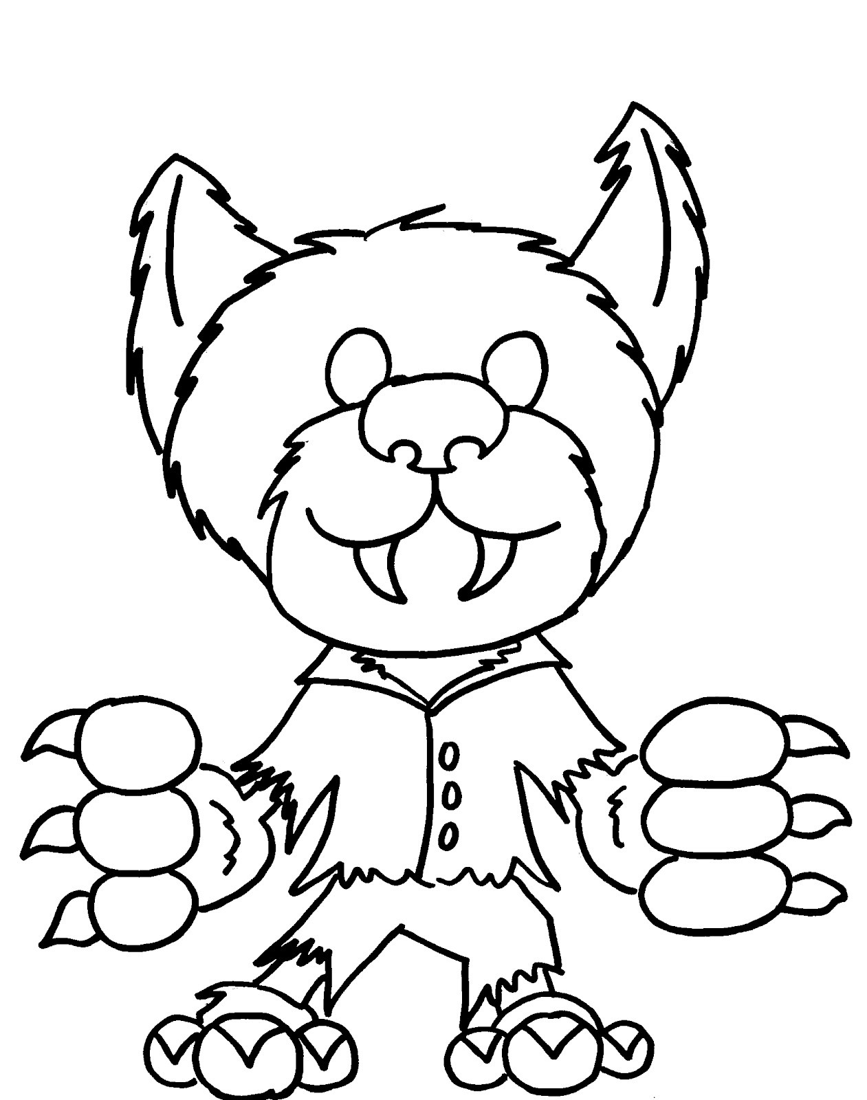Best ideas about Cute Halloween Coloring Sheets For Kids . Save or Pin 50 Free Printable Halloween Coloring Pages For Kids Now.